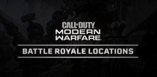 Modern Warfare Battle Royale Map Locations