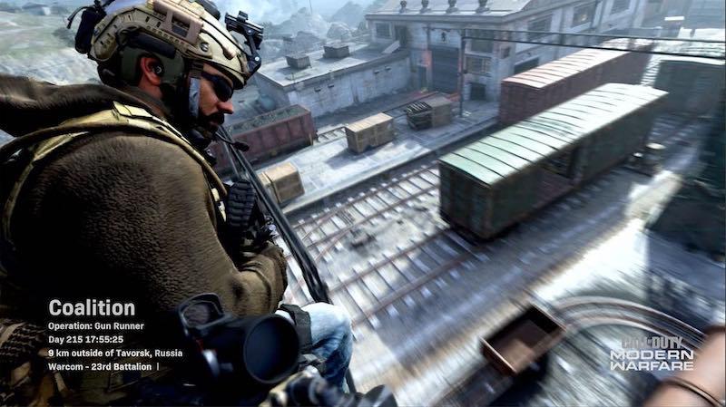 Modern Warfare Gun Runner