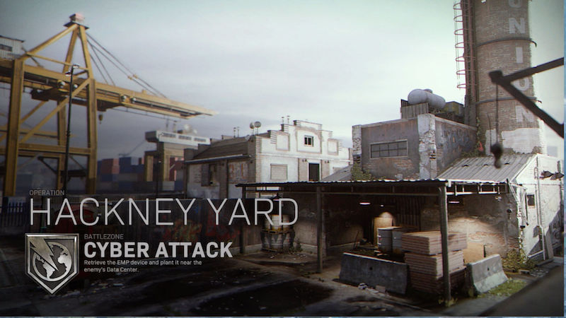 Modern Warfare Hackney Yard