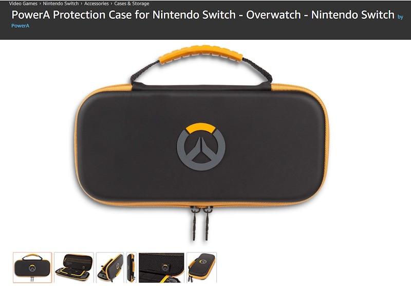 Overwatch Nintendo Switch Case Amazon Listing