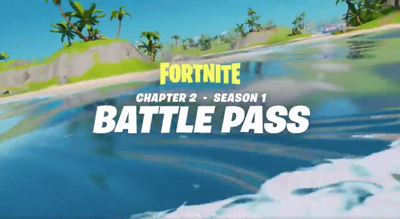 Fortnite Chapter 2, Season 1 Battle Pass Trailer and Map Leaked