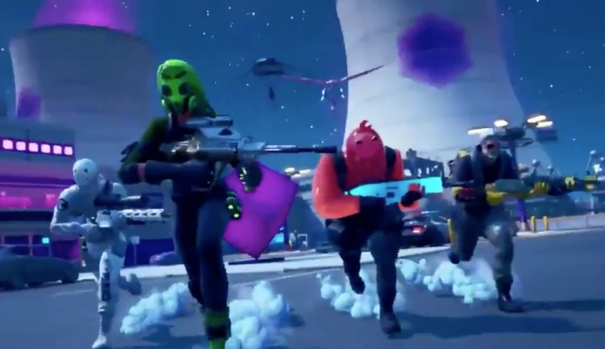 Fortnite Chapter 2 Battle Pass Trailer Breakdown Map